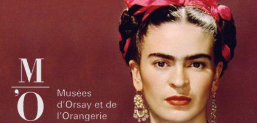 Affiche de l'expo Frida Khalo au musée de l'orangerie