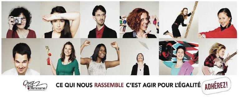 Campagne d'adhésion d'Osez le féminisme !