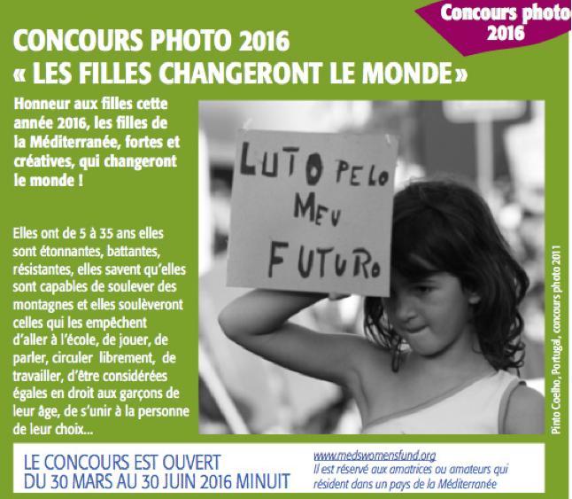 Concours photo Fonds pour les Femmes en Méditerranée