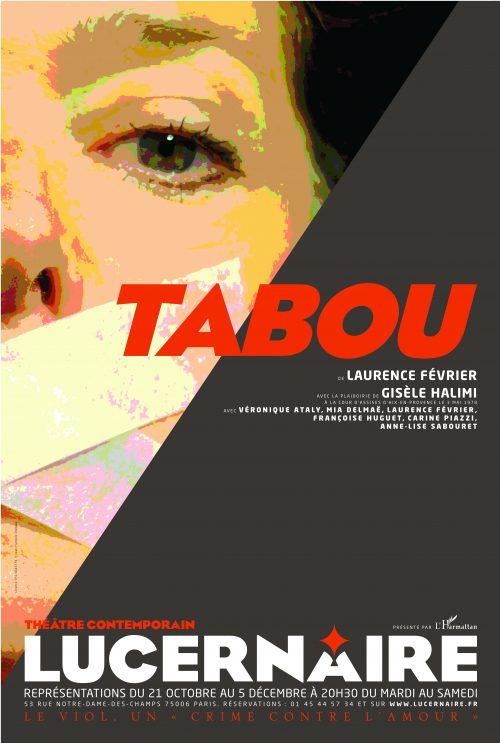 Photo de l'affiche de la pièce de théâtre Tabou