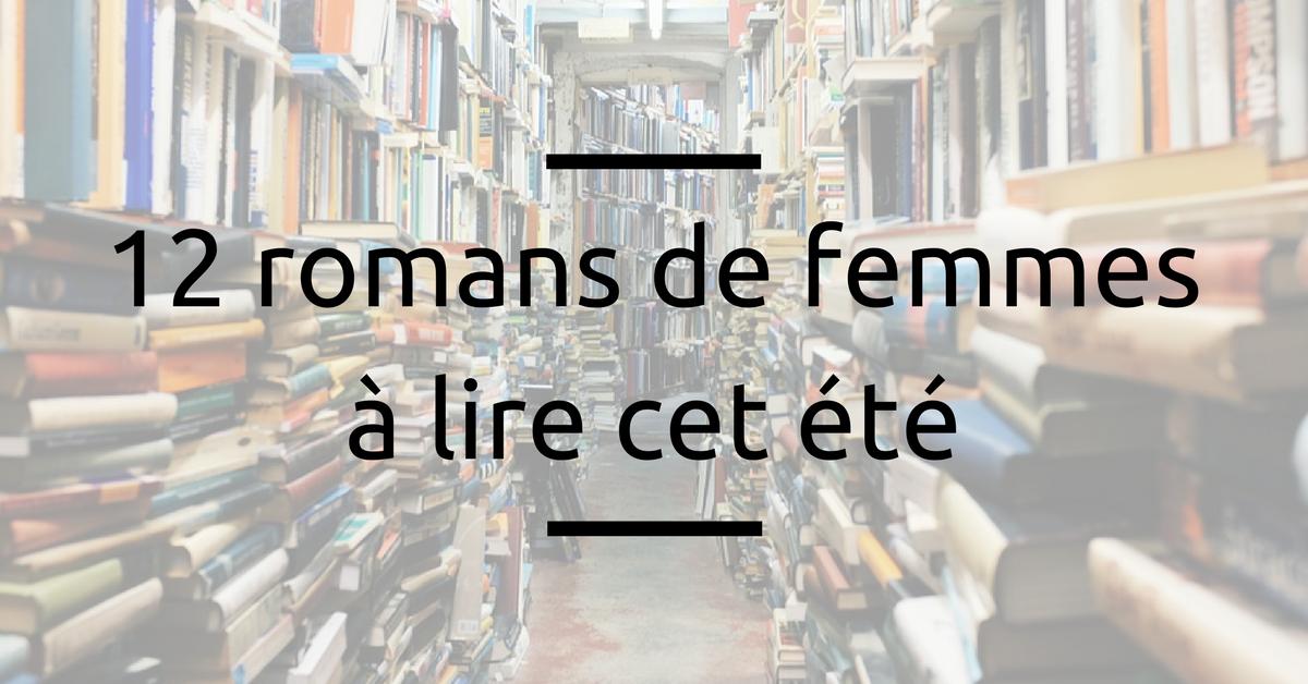 12 romans femmes